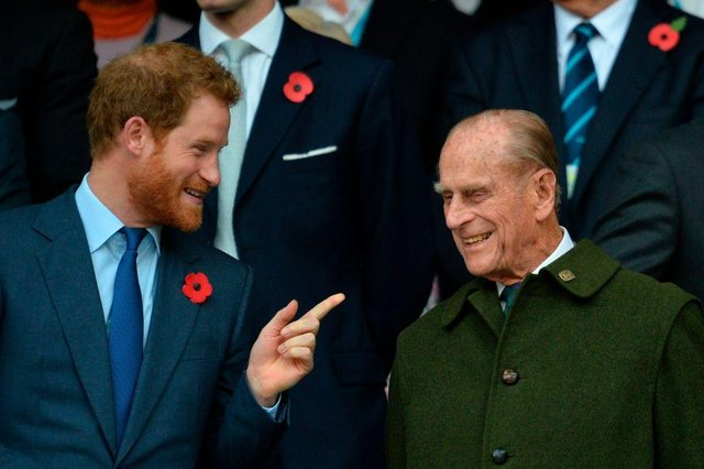 Prince Harry was said to have a close relationship with his grandparents, Queen Elizabeth and The Duke of Edinburgh (Picture: Getty Images)