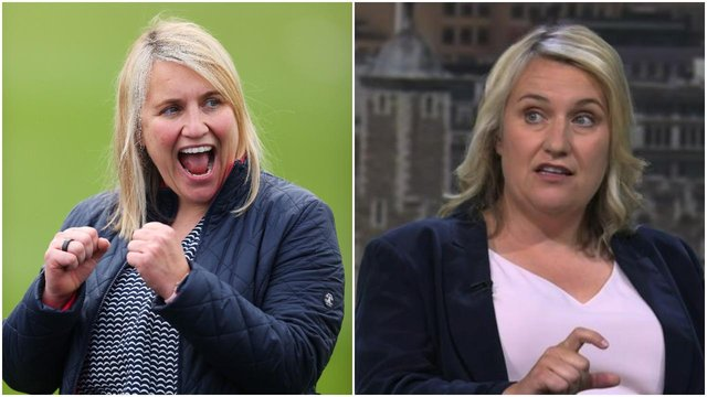 Emma Hayes has appeared in ITV's pundit team during the Euro 2020 tournament (Getty Images)