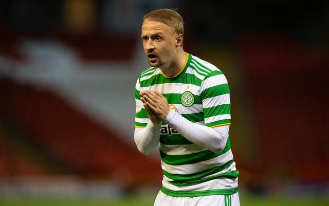 Celtic striker Leigh Griffiths. Picture: SNS