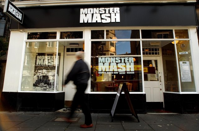 Monster Mash on Forrest Road served up British-style grub at affordable prices.