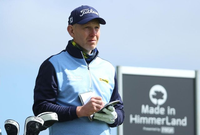 Stephen Gallacher looks on during the second round of the Made in HimmerLand presented by FREJA at Himmerland Golf & Spa Resort in Aalborg, Denmark. Picture: Andrew Redington/Getty Images.