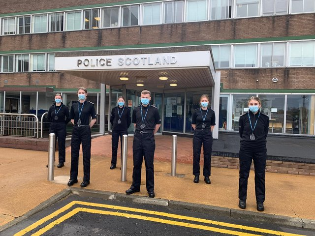 Six Edinburgh Napier students have been sworn in as Special Constables.