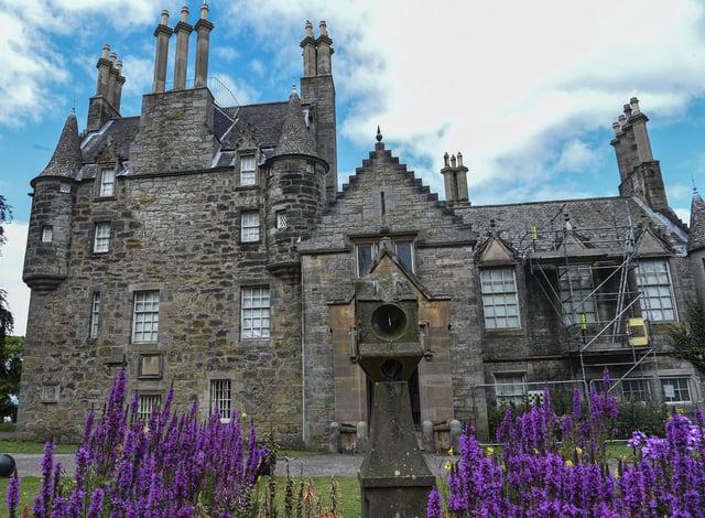Lauriston Castle was built around 1590