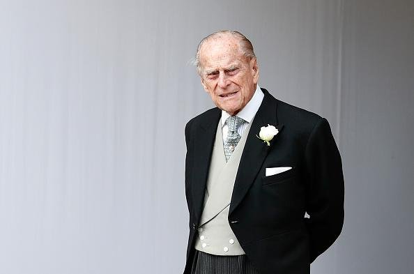 Prince Philip, Duke of Edinburgh attends the wedding of Princess Eugenie of York to Jack Brooksbank at St. George's Chapel on October 12, 2018. Picture: Alastair Grant - WPA Pool/Getty Images