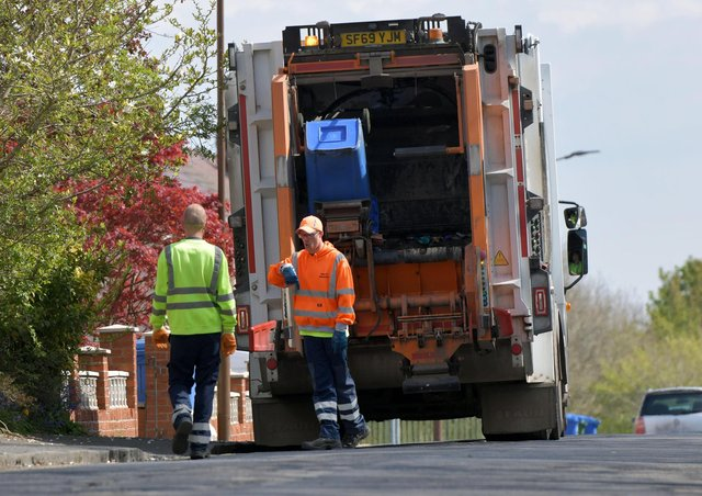 Bin uplifts will be delayed because of Easter