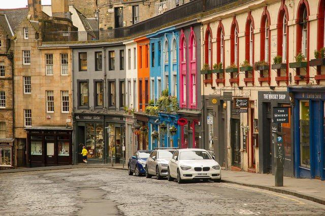 Victoria Street still has some character, unlike most of the rest of the Old Town, says Kevin Buckle