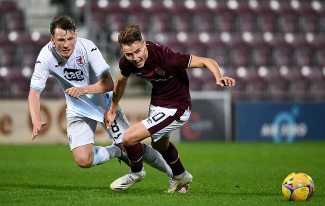 Harry Cochrane joined Montrose for the season earlier in the campaign. Picture: SNS