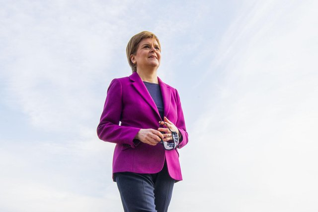 Nicola Sturgeon believes negotiated arrangements between an independent Scotland and England could keep trade flowing over the border.