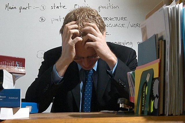 External pressures including pressures regarding employment can negatively impact an individuals mental state.