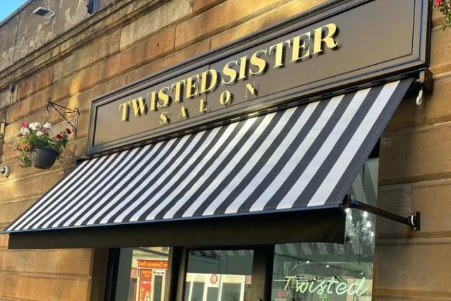 Twisted Sister hairdressing salon in the east end of Glasgow has seen bookings piling up already, with owner Courtney Stewart saying she cannot wait to have customers back from April 5.