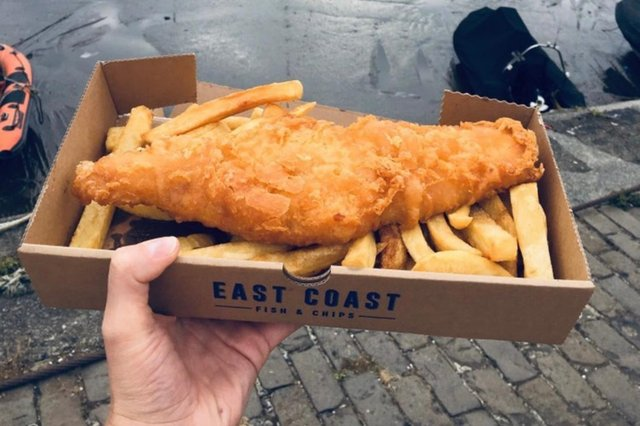 The fish and chip shop was the only one in Edinburgh and the Lothians to make the list