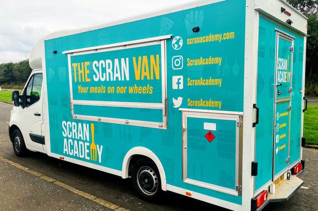 The Scran Van's brownies went down a treat