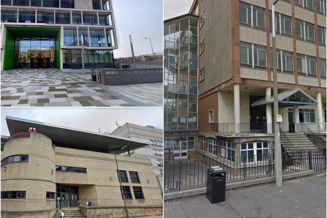 Here are the top ten schools in Edinburgh by Higher results