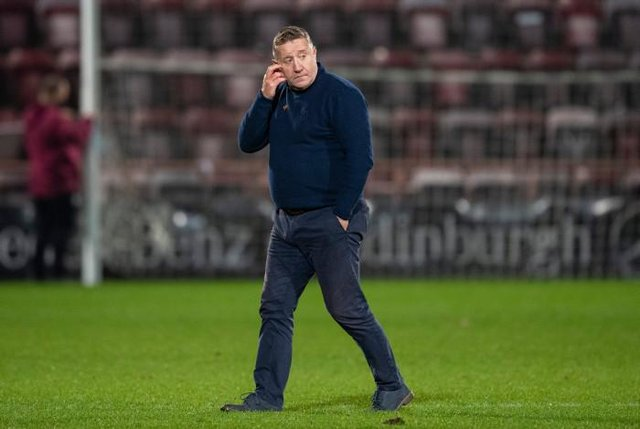 ICT manager John Robertson at Tynecastle last season. (Photo by Ross Parker / SNS Group)