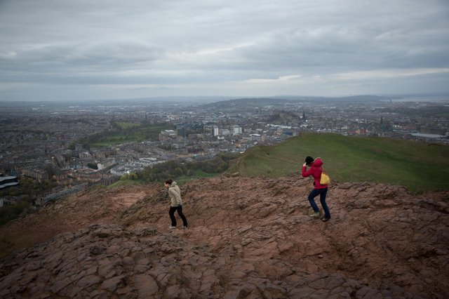 Arthur's Seat has been ranked as the most beautiful walk in the UK (Picture: Matt Cardy/Getty Images)