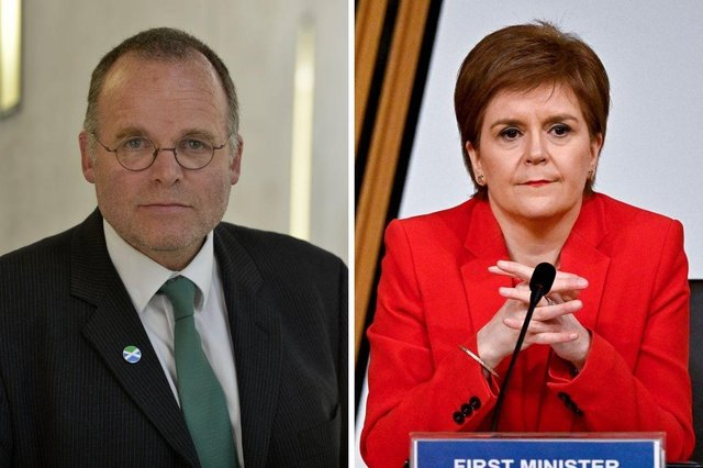"""Andy Wightman has tweeted part of the code of conduct for MSPs that states leaks to the media can """"seriously undermine"""" the work of Parliament, after news broke that a bombshell committee vote had found Nicola Sturgeon misled Holyrood."""