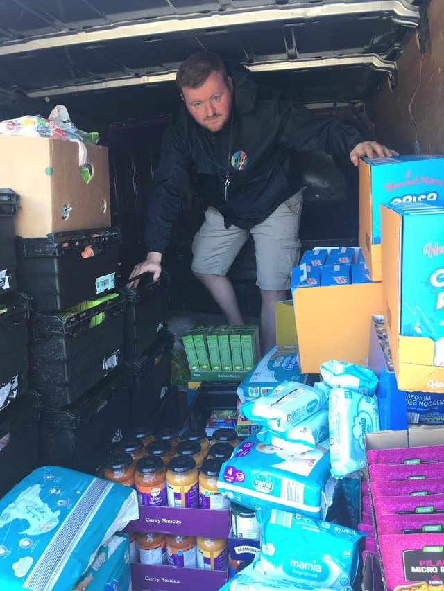 Mr Murphy runs uthink Food for Families programme