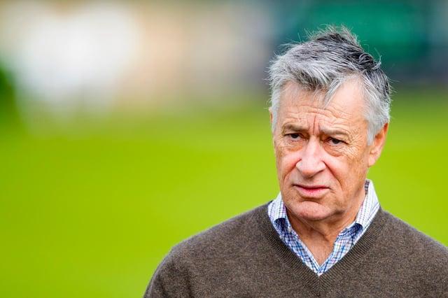 Hibernian chairman Ron Gordon (Mark Scates / SNS Group)