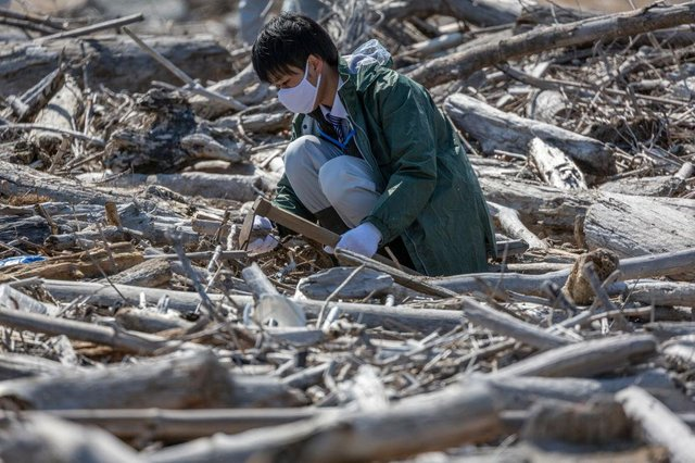 It's been 10 years since Japan was hit by a huge earthquake, tsunamis and a nuclear disaster on the same day (Photo: Yuichi Yamazaki/Getty Images)