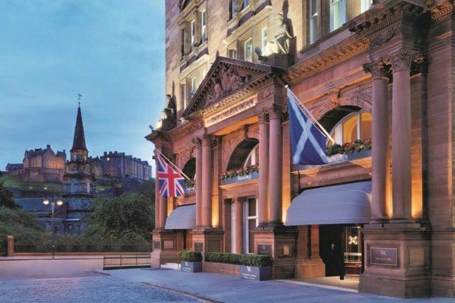 Landmark hotel Waldorf Astoria Edinburgh – The Caledonian announces when it will reopen