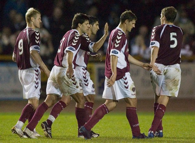 Hearts defeated Alloa Athletic 4-0 the last time the sides met in the League Cup. Picture: SNS