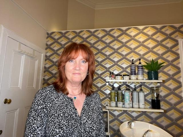 Margo Hogarth, owner of the Hair Lounge in Polwarth