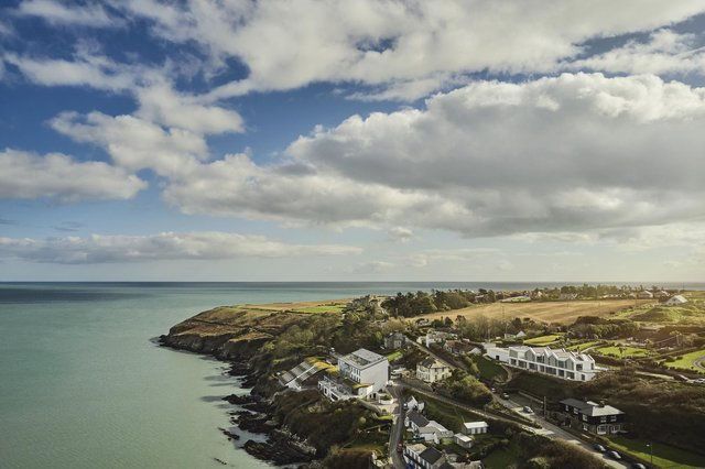 Cliff Beach House in Ardmore, Co Waterford, Ireland.