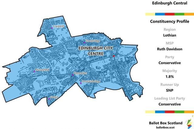 Edinburgh Central constituency    Picture: Allan Faulds at Ballot Box Scotland