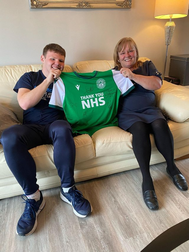Baillie's mum was recently diagnosed with Parkinson's, which led him to take action and raise money for the charity.