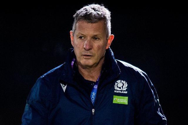 It was a night to forget for Scotland U-20s head coach Sean Lineen