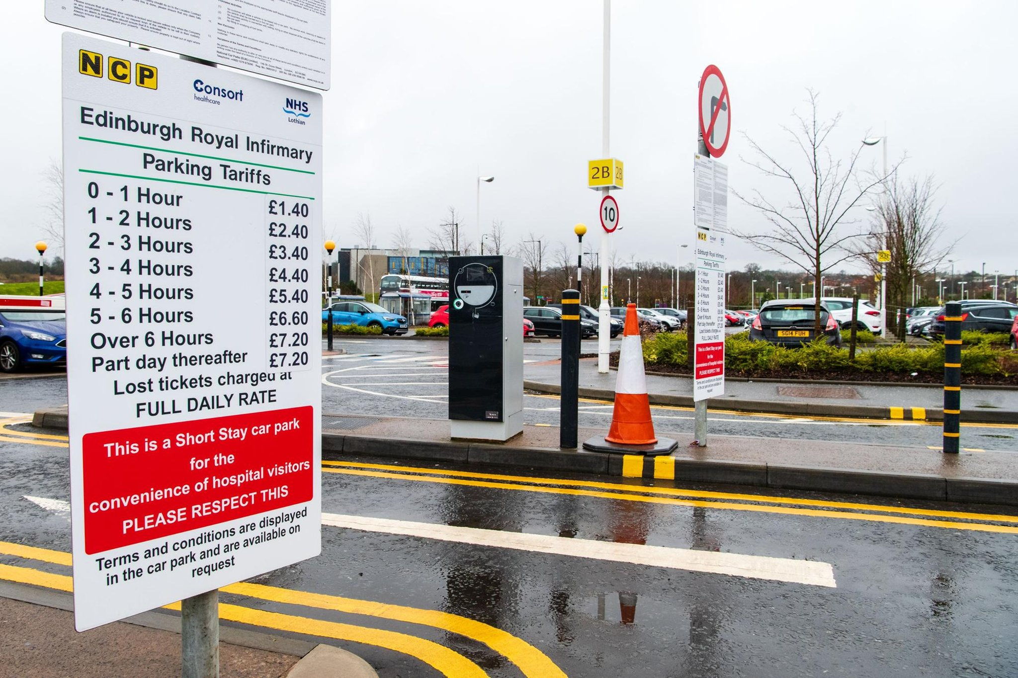 Free Parking At Edinburgh Royal Infirmary Could Be Here To Stay Edinburgh News