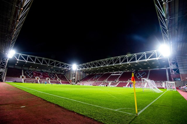 Tynecastle Park could be a Premiership venue come August.