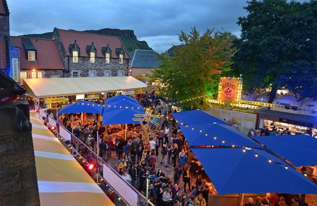 The Pleasance Courtyard is one of the most popular venues at the Edinburgh Festival Fringe. Picture: Neil Hanna