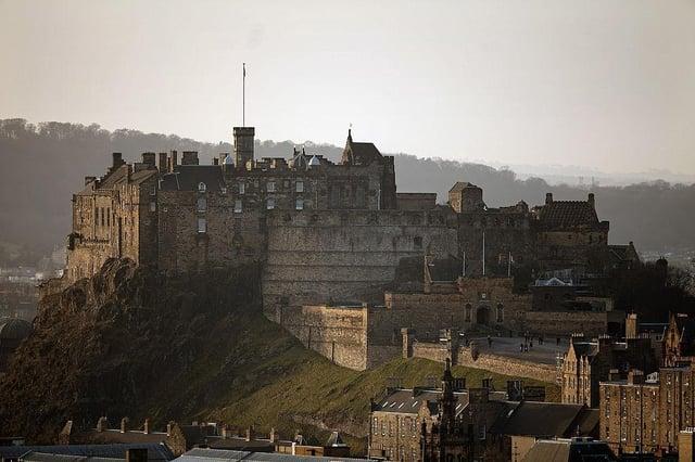 Edinburgh Castle in all its glory. Picture: Getty