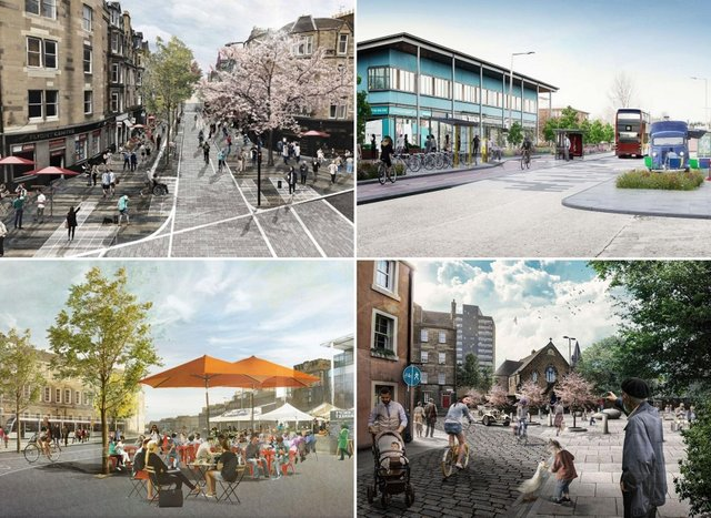 These Edinburgh developments will change the way residents move around and enjoy the city.