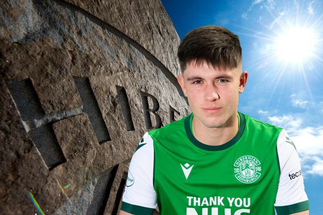Connor Young has scored in each one of Hibs Under-18s' games so far