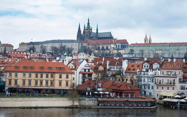 Prague's streets are quiet as the Czechs enter Euro 2020.