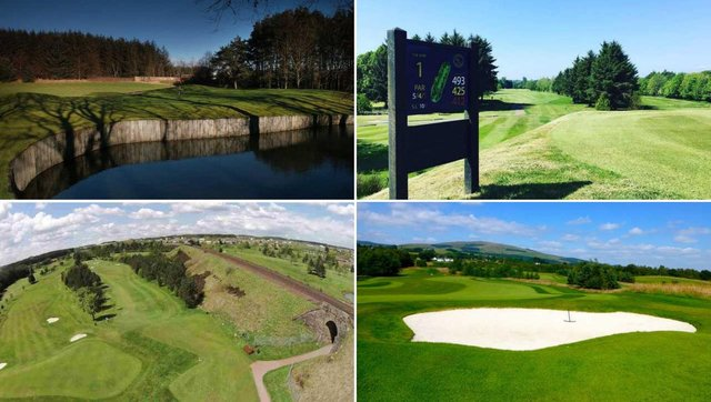 Some of the golf courses you could be playing at a bargain price.