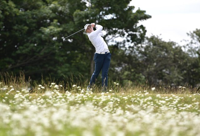 Hannah Darling during day four of the R&A Womens Amateur Championship at Kilmarnock (Barassie) Golf Club. Picture: Charles McQuillan/R&A/R&A via Getty Images.