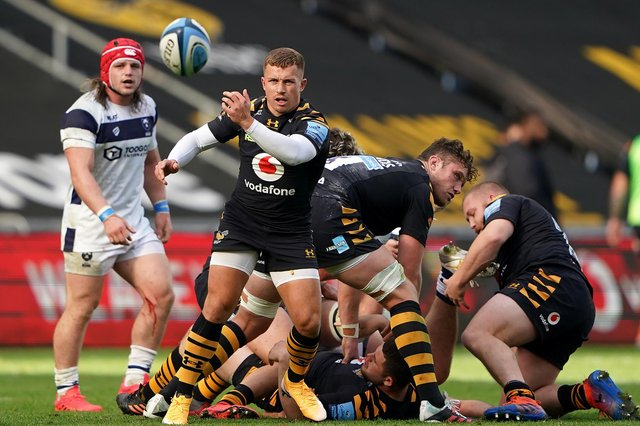 Ben Vellacott in action for Wasps during last season's Gallagher Premiership semi-final against Bristol. Picture: Tim Goode/PA