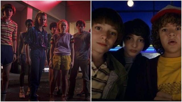 The iconic cast members of Stranger Things are set to return for season 4 (Netflix/Stranger Things)