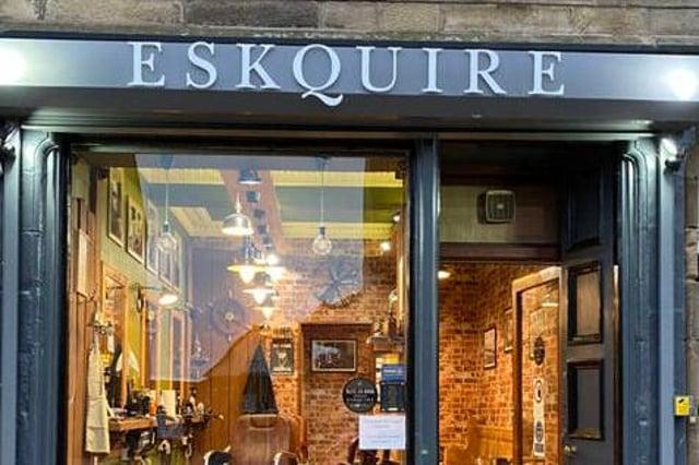 Shutters wrangle: Eskquire Barbers in Prestonpans