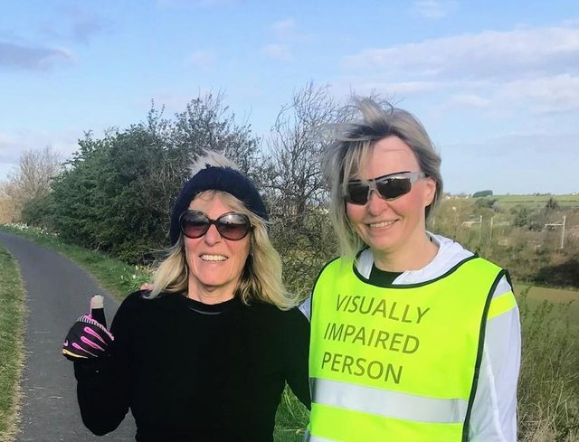 Lorna and Lesley are running their marathon over four days next week.