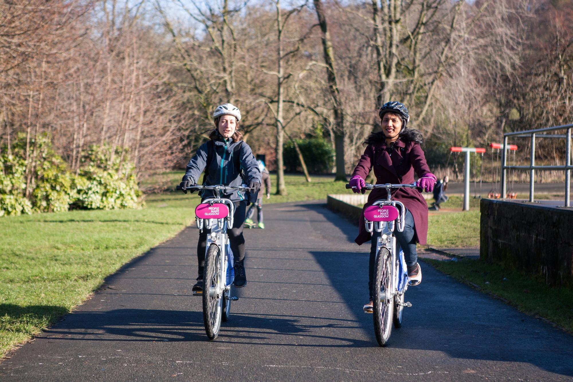 Glasgow bike hire scheme hits new monthly rentals record