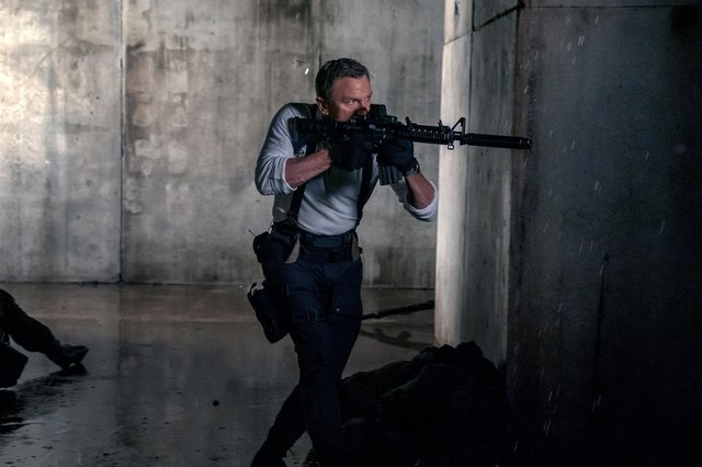 Daniel Craig in No Time To Die PIC: Nicola Dove © 2021 DANJAQ, LLC AND MGM.