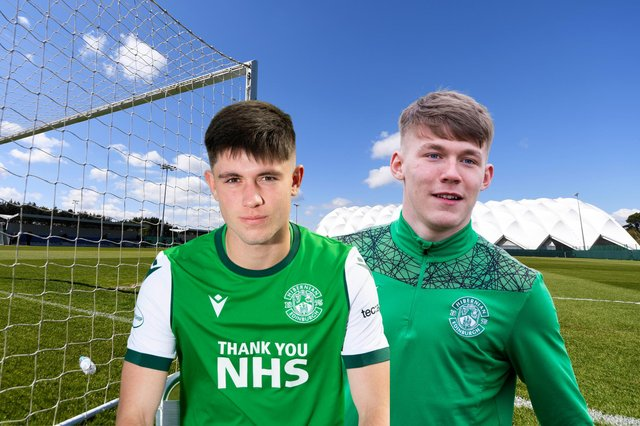 Connor Young and Josh O'Connor were among the goals for Hibs at the Oriam