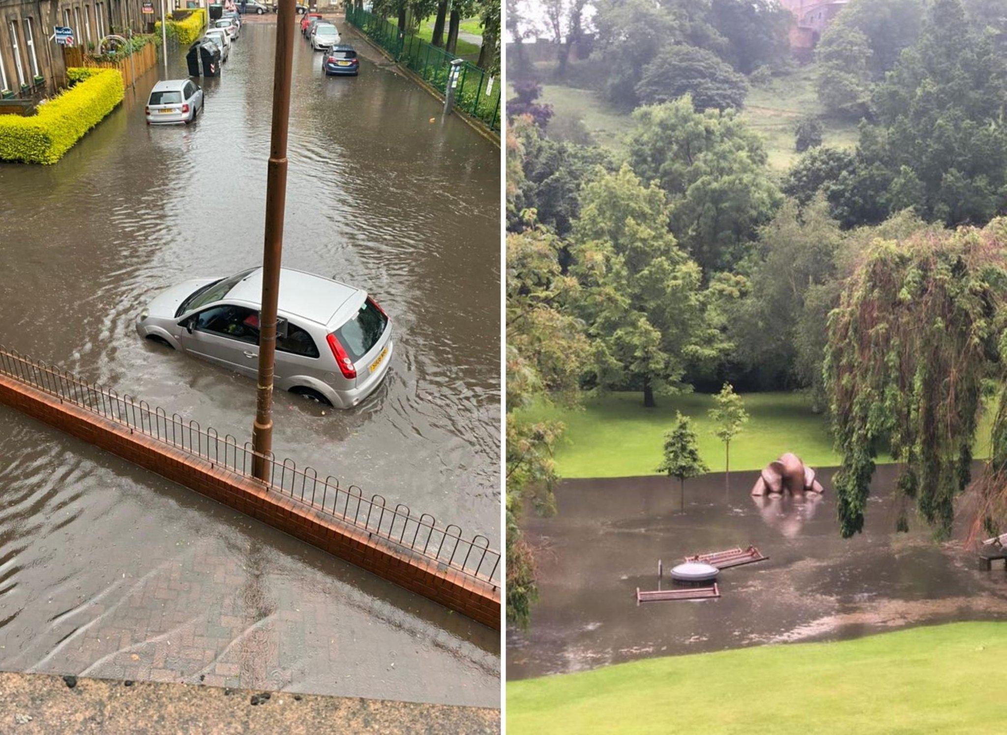 Edinburgh flooding: 'We are going to see more of these extreme events' says  climate expert | Edinburgh News