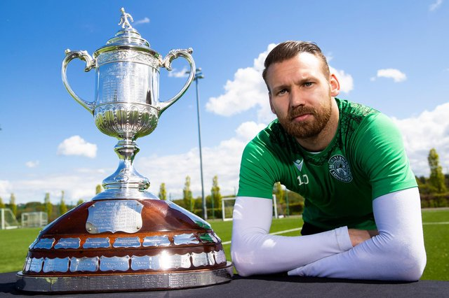 Hibs' Martin Boyle is looking for another Scottish Cup win. Photo by Alan Harvey / SNS Group
