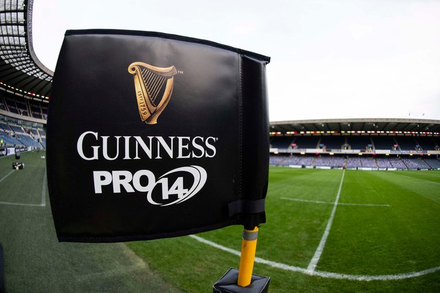 A general view of BT Murrayfield ahead of a PRO14 fixture