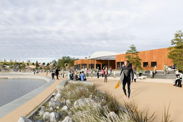Waveguard Scotland has been given the go-ahead but plans for the buildings have yet to be approved